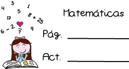 Pegatinas para apuntar los deberes